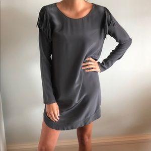 Rory Beca fringe shoulder shift dress